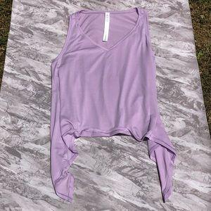 Lululemon Purple Tie Tank Top (Size 4) NWOT